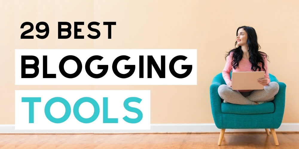 Blogging tools and resources for new bloggers. Great resource for beginner bloggers. These are the blog tools I use to run my six-figure blogging business. #sixfigurebloggers #blogging #makingmoney #makemoneyblogging #blogtools