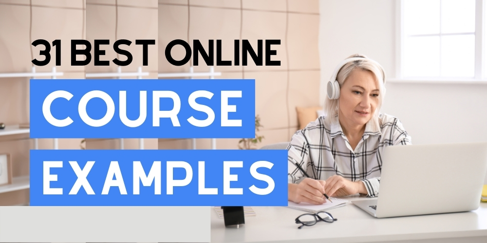 Best online course examples
