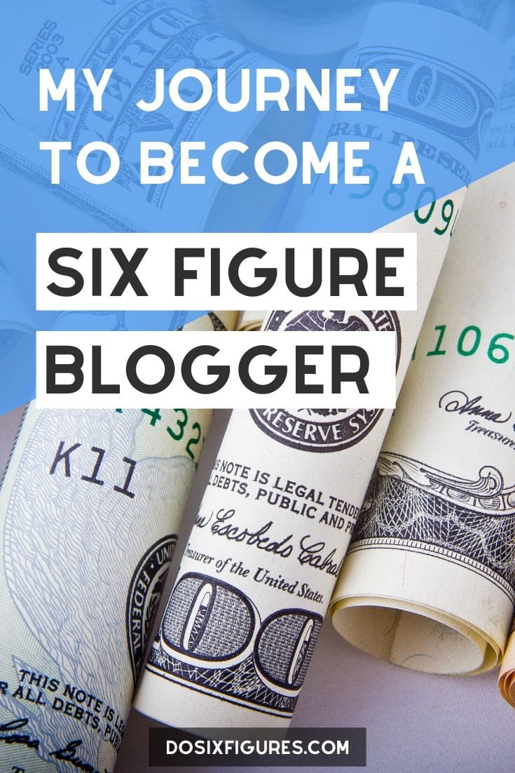 How I Earn A Six Figure Income As A Full-Time Blogger