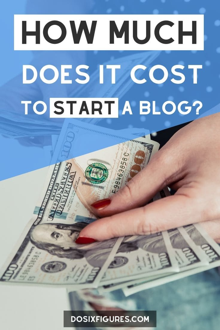 How much does it cost to start a blog? If you want to know the real blogging startup costs, get the truth right here. #blog #blogging #startablog #sixfigurebloggers