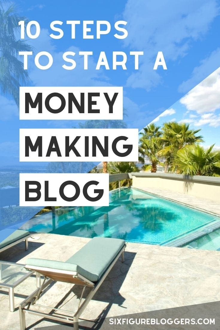 10 Steps To A Money Making Blog