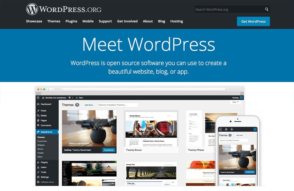 WordPress.org blog platform